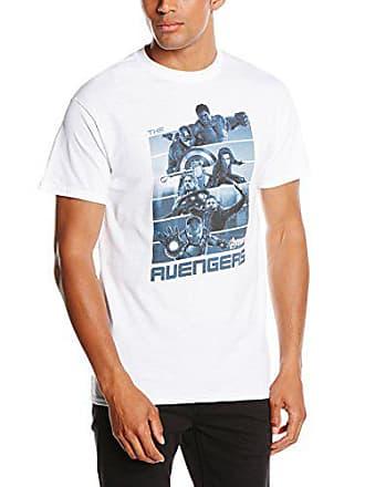 ecb3cab381e MARVEL Avengers Age of Ultron Team Age of Ultron - Camiseta Manga Corta para  Hombre,