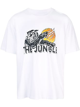 Just Don Camiseta com estampa The Jungle - Branco
