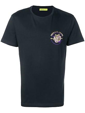Versace Jeans Couture Camiseta com logo - Preto