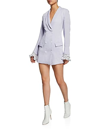 endless rose Double-Breasted Long-Sleeve Blazer Dress