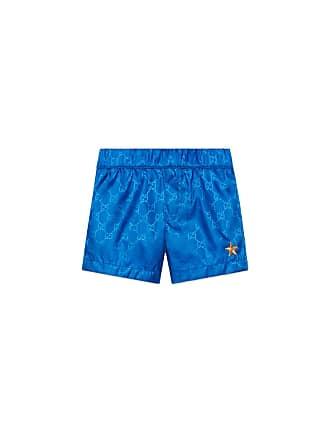 31f62ef622 Gucci GG Supreme Swim Trunks, Size 9-36 Months