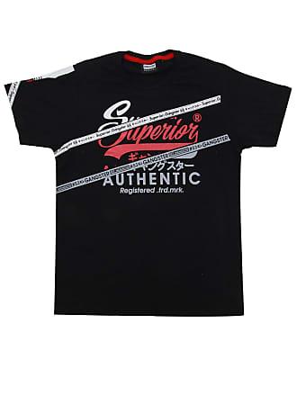 Gangster Camiseta Gangster Menino Escrita Preta