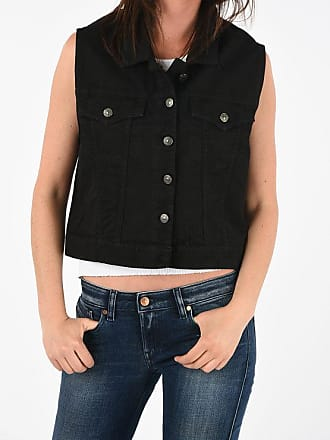 Gaëlle Paris Denim Sleeveless Jacket size Xs