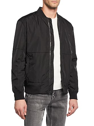 Kenneth Cole Mens Zip Bomber Jacket
