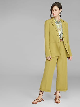 Etro Linen Culottes, Woman, Green, Size 42