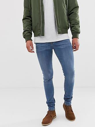 Asos Ljusblå superskinny jeans