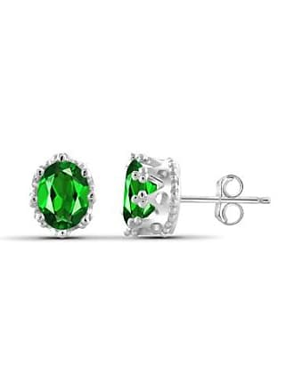 JewelersClub 2.40 Carat T.G.W. Chrome Diopside Gemstone Earrings
