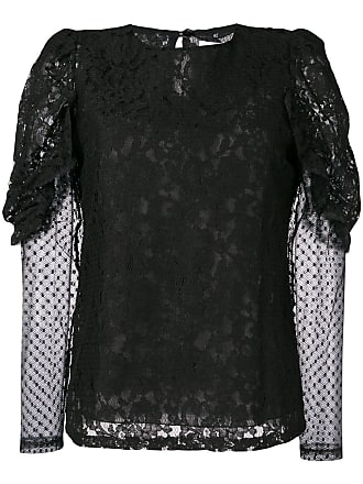 See By Chloé longsleeved lace blouse - Preto
