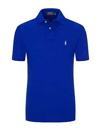 797289d2d047dc Polo Ralph Lauren Poloshirt aus 100% Baumwolle von Polo Ralph Lauren in  Royal für Herren