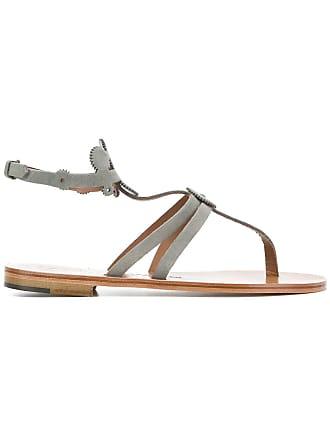 ÁLVARO GONZÁLEZ thong sandals - Grey