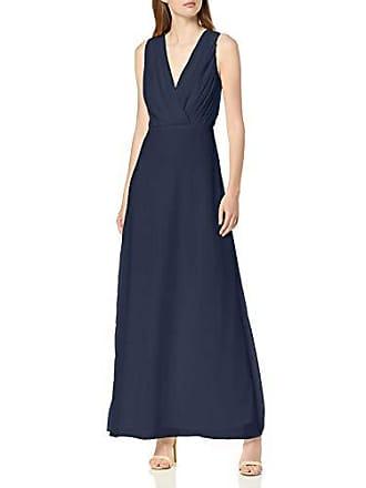 ccdcd02fa1 Vila Clothes Vialli S/l Maxi Dress/DC Robe, Bleu Navy Blazer,