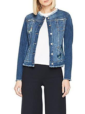 df5ecba93cb5 Brax 98-6087, Giacca in Jeans Donna, Blu (Regular Blue 25)