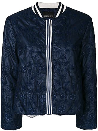 Ermanno cropped lace jacket - Blue