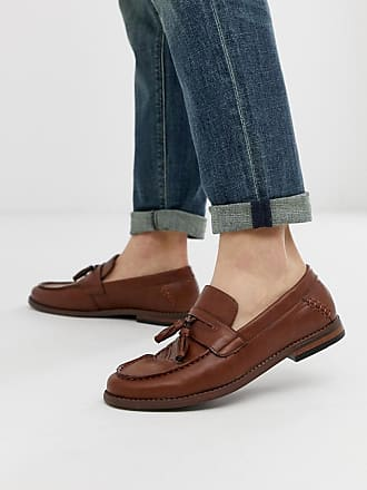 New Look faux leather tassel loafers in tan - Tan