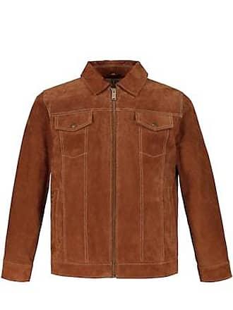 2bf07a0edf572e JP1880 Leder Jacke Herren 3XL, camel, Mode in großen Größen