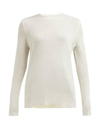 Gabriela Hearst Harius Cashmere And Silk Blend Sweater - Womens - Ivory