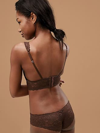 1399f88411 Dorina tone on tone lana nude non padded bralette in dark - Beige
