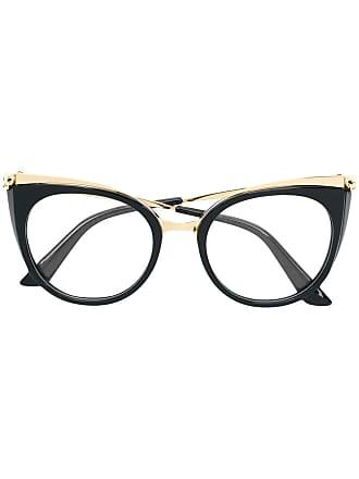 762d82c4f44 Cartier Armação de óculos Panthère de Cartier - Preto