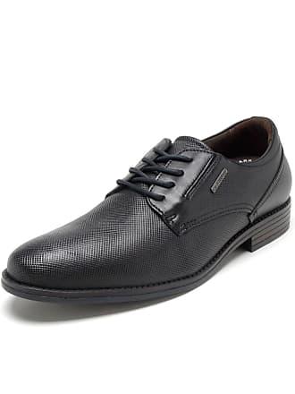 Pegada Sapato Couro Pegada Liso Preto