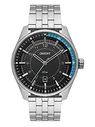 Orient Relógio Masculino Orient Casual MBSS1330/PASX - Prata
