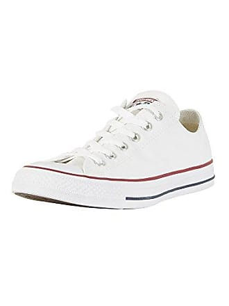 Converse Unisex Chuck Taylor All Star Ox Low Top Classic Optical White Sneakers - 13 D(M) US