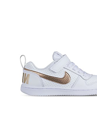 the latest 6f8fd e78ac Nike COURT BOROUGH LOW EP velcro BAMBINA