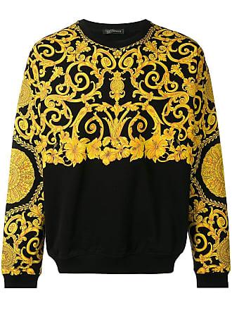 Versace baroque-print sweatshirt - Black