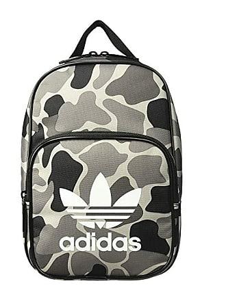 08410384d5b adidas Originals Originals Santiago Lunch Bag (Camo Aop Carbon Black White)  Bags