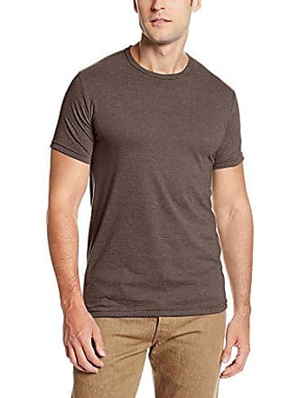 d5a732676 Soffe MJ Mens Ringspun Fitted Tee, Brown Heather, Large