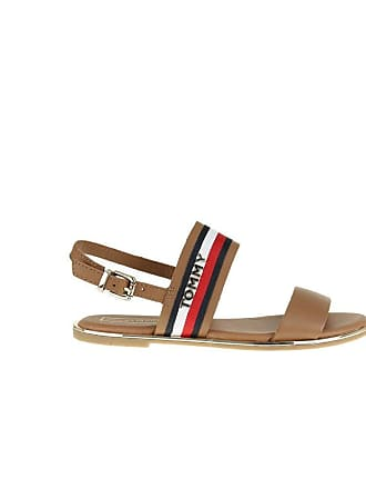 6015ed6ac Tommy Hilfiger Fw0fw04049 929 Sandals Women Leather 38