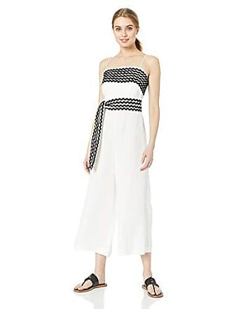 2ad0427f169 C Meo Collective Womens INCISE Sleeveless Cropped Belted Jumpsuit