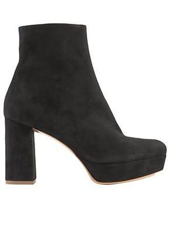 cb5ede1f1f Mansur Gavriel Mansur Gavriel Woman Suede Platform Ankle Boots Black Size  37.5