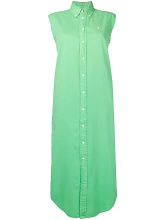Ralph Lauren sleeveless shirt dress - Green