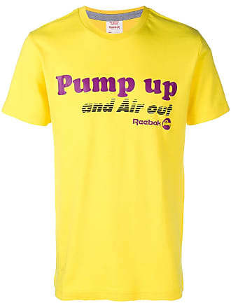 Reebok graphic print T-shirt - Yellow