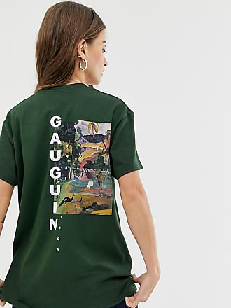 Reclaimed Vintage inspired t-shirt with art print - Green