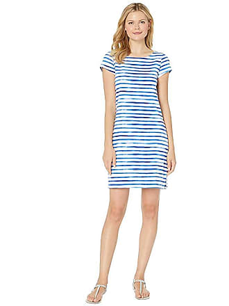Hatley Nellie Dress (Painted Stripes Blue) Womens Dress