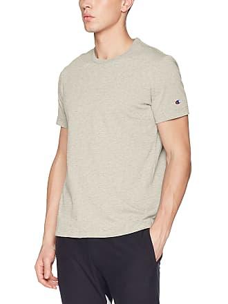 bd6886fc CHAMPION REVERSE WEAVE Mens Crewneck T-Shirt Grey (Loxgm Em004), Medium