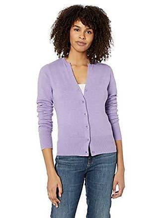 KERSH Womens Cardigans, Lilac Mix Extra Large