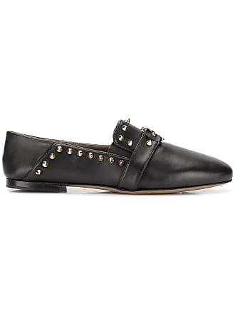 Versace Collection stud loafers - Preto