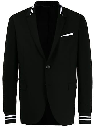 Neil Barrett sporty single breasted blazer - Preto