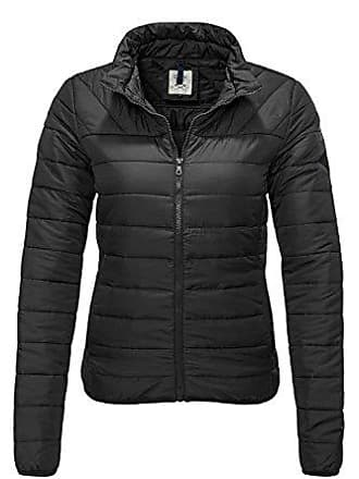 48837cca28c81b Only Damen Steppjacke Übergangsjacke Leichte Jacke (XL, Black)