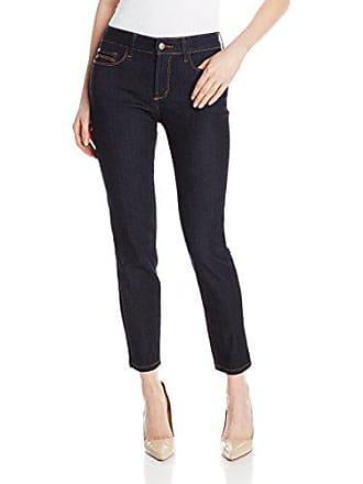 NYDJ Womens Clarissa Ankle Jean, Dark Enzyme, 0