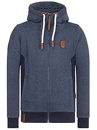 0da333289b24 Naketano Male Zipped Jacket Birol Indigo Blue Melange, XL