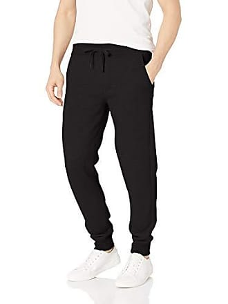 7860f7fd974ad7 Calvin Klein Mens Monogram Logo Jogger Sweatpants, Black X-Large