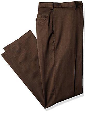 ab9c628c75 Savane Mens Big-Tall Big   Tall Flat Front Stretch Crosshatch Dress Pant