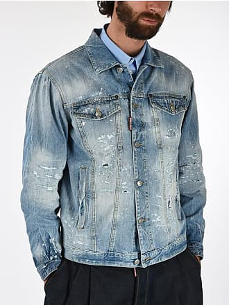 Dsquared2 Giubbotto OVER JEAN in Denim taglia M