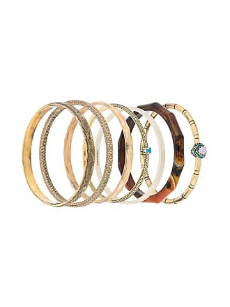 Iosselliani Elegua set of bracelets - Metálico