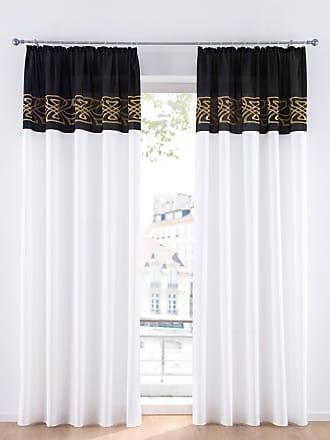 Bonprix Vorhang mit Stickerei (1er Pack) gold, bonprix