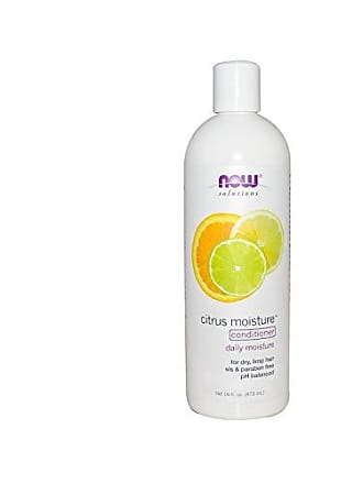 Now Foods NOW Solutions, Citrus Moisture with Jojoba Oil and Green Tea Extract, Daily Conditioner for Dry Limp Hair, pH Balanced, 16-Ounce