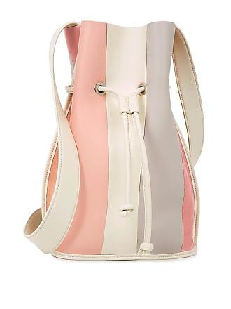 Derek Lam Jay Patchwork Bucket Bag Neutral